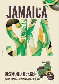 Freestylee Jamaica Ska Poster
