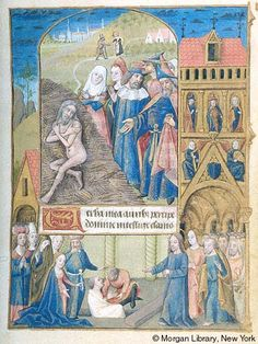 Book of Hours, MS M.1001 fol. 114r - Images from Medieval and Renaissance Manuscripts - The Morgan Library & Museum