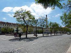 Rossio - Lisbonne Bon Plan Voyage, Sidewalk, Portuguese, Lisbon, Side Walkway, Walkway, Walkways, Pavement