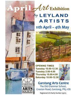 Leyland Artists -  Garstang Art Centre Exhibition 2017