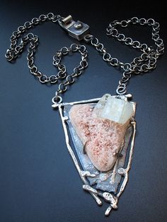 Image of apopholite pendant, by Richard Salley