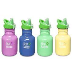 Klean Kanteen Drinkfles Kids – met tuitbekerdop   The EcoShop