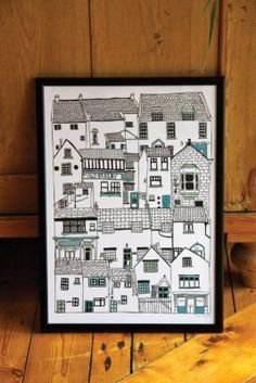 A nice seaside inspired print for my seaside flat.