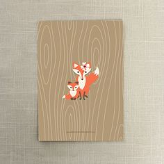 Baby Fox Baby Shower Invite Woodland Baby by CreativeUnionDesign