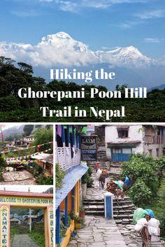 Hiking the Ghorepani-Poon Hill Trail in Nepal
