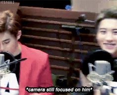 Sunny's FM Date 150410 : Camera-loving Chanyeol and 100% done Suho (2/4)