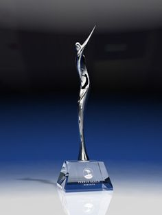 Elegance Golfer - Male - Sports Crystal Awards by Eclipse Awards. The Elegance Golfer captures the graceful motion of a golf swing. These chrome sculptures depicting a stylized golfer, will take your golf event to a new level. Trophy Plaques, Golf Trophies, Puerto Rico History, Crystal Awards, Custom Awards, Fundraising Events, Corporate Gifts, Sculptures, Chrome
