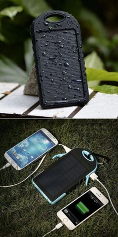 Just add sun. This rain-proof and dust-proof solar charger is both portable and stylish (and charges up to two phones or tablets at once!). We love the SunVolt dual USB charger for its anti-skid, durable design and for all the great colors it comes in. Perfect for long flights, road trips, hiking, working poolside and much more.
