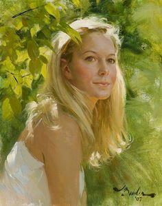 A portrait by Joe Bowler 2007