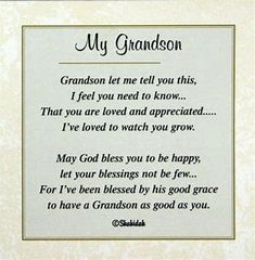 ❤️ Grandson Birthday Quotes, Grandson Quotes, Grandkids Quotes, Quotes About Grandchildren, Birthday Quotes For Him, Birthday Ideas, Birthday Sayings, 28th Birthday, Birthday Message