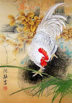 Shen Mei - петухи - tatasha