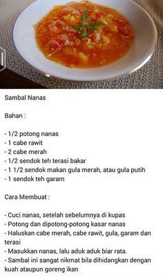 Sambal Sauce, Sambal Recipe, Prawn Noodle Recipes, Indonesian Cuisine, Western Food, Malaysian Food, Cooking Recipes, Healthy Recipes, Creative Food