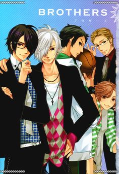 Brothers Conflict- judging by the wealth of super cute and effeminate male characters, this an anime I should definitely look into. Hot Anime Guys, Cute Anime Boy, I Love Anime, Me Me Me Anime, Brother Conflict, Otaku Anime, Manga Anime, Diabolik Lovers, Manga Boy