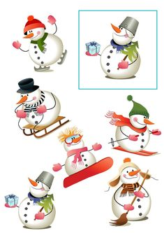 Christmas Images, Vintage Christmas, Christmas Diy, Christmas Ornaments, Winter Activities For Kids, Preschool Activities, Soft Pastel Art, Painted Wine Glasses, Snowman Crafts