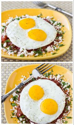Start your day with hearty and filling Huevos Rancheros, or savor this Mexican classic at your next weekend brunch. | Culinary Hill