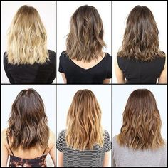 The key to styling this cut? A curling iron or a rod. If you use an iron, leave the ends out. The key is to alternate the wave. Products: A beach wave spray. Texture serum — its not supershiny, but it has a little texture for grittiness. And of course, dry shampoo.