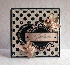 Beautiful Polka Dot Card... ♥