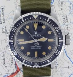 Rolex Submariner 5517 - Wouldn't mind one of these for a vintage.