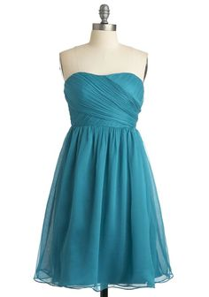 I like the simplicity of this dress but would need to find something in more of a light blue, baby blue color.