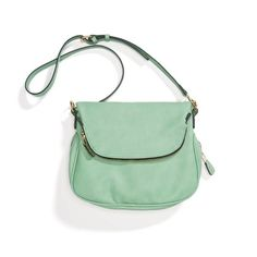 StitchFix: I'm not sure how often I could wear a green purse, but this style is very me. I love large totes and small cross body bags.