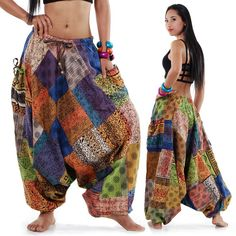These are so totally me. Hippie Style, Gypsy Style, Hippie Boho, Hippie Pants, My Style, Bohemian Mode, Bohemian Style, Couture, Genie Pants