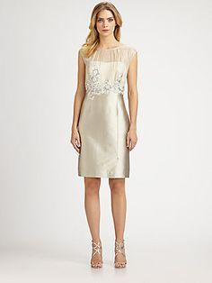 Kay Unger Illusion Dress