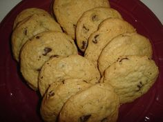 Chocolate Chip Cookies 1 dz by SlipsCreativeSweets on Etsy, $10.00