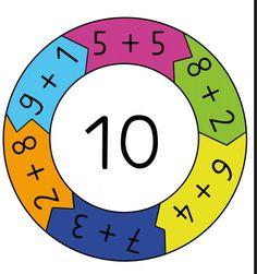 Shape Worksheets For Preschool, Kindergarten Worksheets, Preschool Activities, Math Addition, Addition And Subtraction, Math Blocks, Math Magic, Math Numbers, Math For Kids