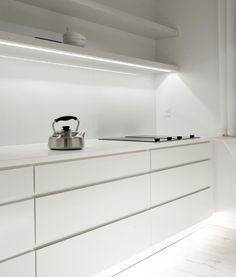 The best of Scandinavian interior design, minimalist modern white kitchen by Norm Arkitekter