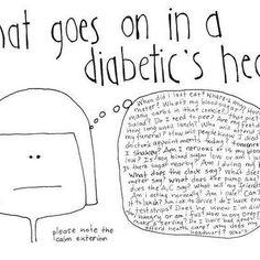 Being diabetic looks sooooo easy, doesn't it?