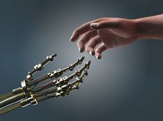 robot and human hand Computer Rules, Intelligent Robot, Unexplained Phenomena, Technology World, Technology News, Futuristic Technology, Medical Technology, Energy Technology, High Risk