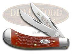 CASE XX Merry Christmas Dark Red Bone Saddlehorn Stainless Pocket Knife - CA25503 | 25503 - 021205255033