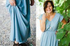 Wear it long or short. Perfect for travel + minimizing your wardrobe. #USAmade #sustainable #ecofashion http://www.seamly.co/products/jenny-dress