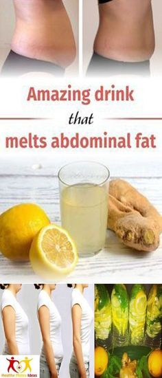 An Amazing Drink That Melts Fat In Just 4 Days!