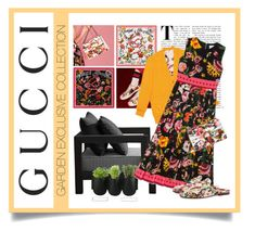 """""""Presenting the Gucci Garden Exclusive Collection: Contest Entry"""" by alyssumfield ❤ liked on Polyvore featuring Gucci, XVL, Authentics and gucci"""