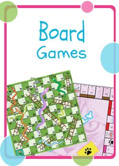 Printable Board Games