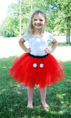 Mickey Mouse Inspired Tutu $27 #disney #tutu #mickey