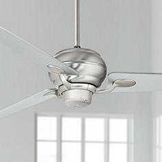 "60"" Casa Spyder® Brushed Steel  Three Blades Ceiling Fan"