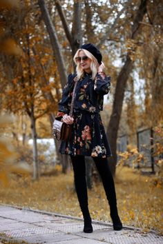 25 Reasons to Forget Seasonal Rules and Wear Florals During Winter 6fe8677927cd