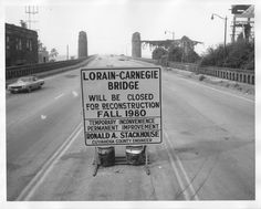 Guardians of Traffic | Bridge closing sign Fall of 1980 In 1980 the federal government approved a $13.6 million grant to repair the bridge, which combined with $2.4 million raised locally to fund the reconstruction. Some of this funding was specifically earmarked for just the cleaning of the Guardians.