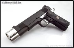 The punisher m1911 AIRSOFT hand gun. Reaches 500 fps, and is c02 powered