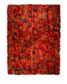 Tapis Tissé Main Ocre Rouge 300x400 cm Contemporary Rugs, Unique Rugs, Artisanal, Vintage Colors, Shag Rug, Handmade Rugs, Beautiful Homes, Bohemian Rug, Woven Rug