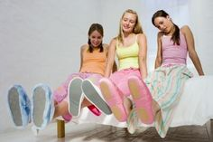 Slumber Party Ideas for 10 Year Old Girls - DECORATING FLASHLIGHTS