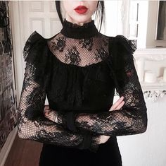 Dark Fashion, Gothic Fashion, Goth Dress, Gothic Outfits, Look At You, Aesthetic Clothes, Korean Fashion, Nice Dresses, Cool Outfits