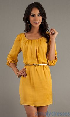 Perfect fall dress for the office