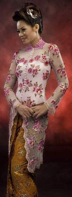 The Original Indonesia Clothing: Kebaya Pengantin Modern Indonesia