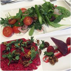Vegan food at Wivenhoe House Colchester
