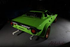 Full Group 4 restoration of period competition Lancia Stratos completed including race preparation to modern FIA legal standards. Italian Beauty, Car Brands, Alfa Romeo, Car Ins, Hot Cars, Exotic Cars, Cars And Motorcycles, Rally, Super Cars