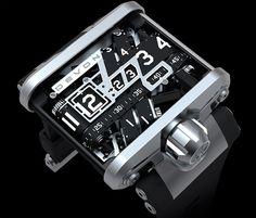 Unique watch.