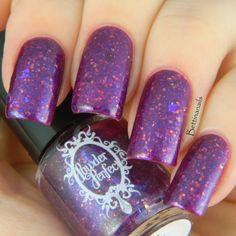 In My Dreams - Purple Nail Polish - handblended by Powder Perfect www.powderperfect.com.au